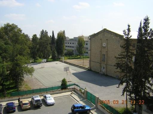 Melkonian building and adjacent park