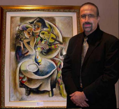 A retrospective of Varoujan's art on display