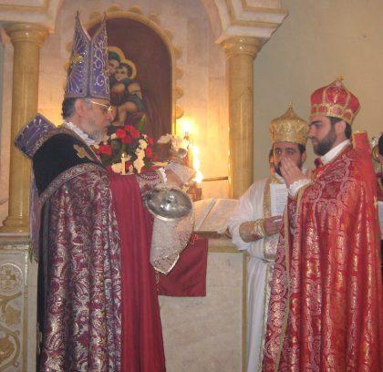 The ordinance of Father Karekin Bedourian in Kessab