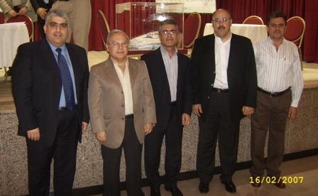 Members of the Elected Legislative Council in Sharjah-Dubah
