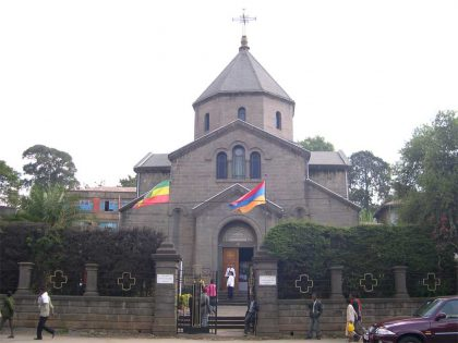 Liturgy and ceremony for peace in the Armenian Church in Addis-Ababa