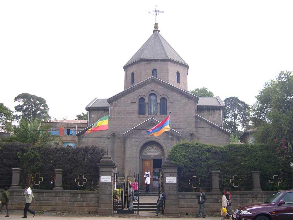 Saint Kevork Armenian Church in Addis-Ababa, Ethiopia