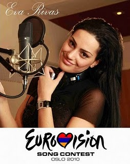 Music of Armenia interviews Eva Rivas, Armenia's Eurovision 2010 star
