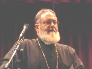 Father Mesrob Kerkezian lectures in Sharjah
