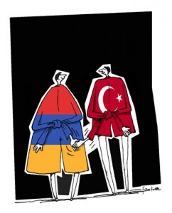 Caricature by Firuz Kutal