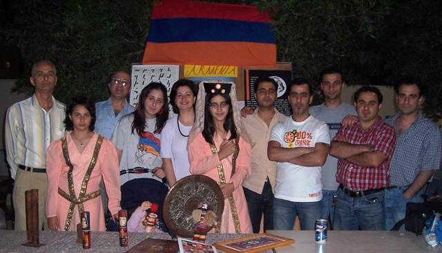 Food Festival in Qatar: Armenian community team