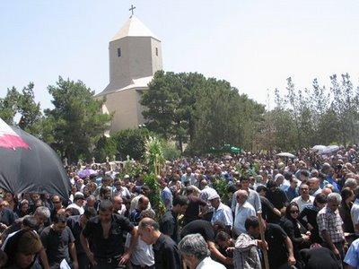 Funeral in Tehran