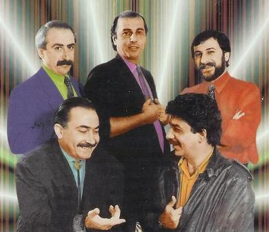 Garo and Gomidas Band in 1994