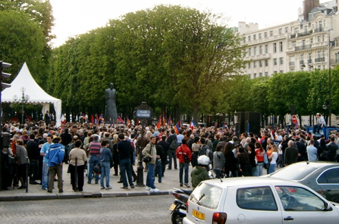 PARIS DEMONSTRATIONS