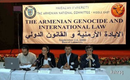 Beirut conference to discuss Armenian genocide