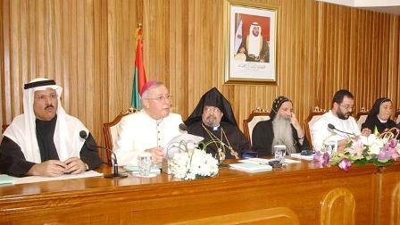 Goriun Babian in a symposium on religious tolerance in Abu Dhabi