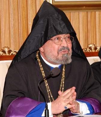 Archbishop Goriun Babian in Abu Dhabi