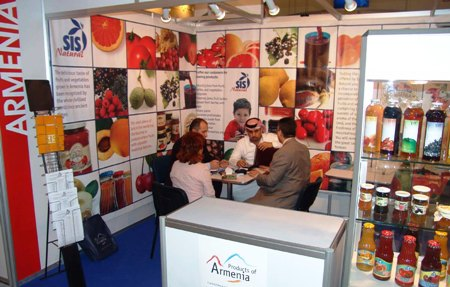 ARMENIAN PAVILION DURING GULFOOD 2006 DUBAI