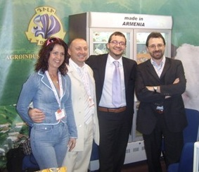 Dili LLC company from Armenia in Gulfood 2007