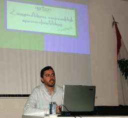 Lecture on drug addiction and the youth in Antelias