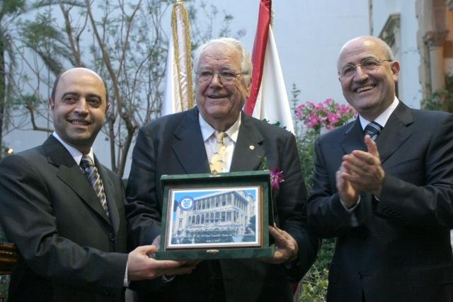 Token of recognition to Harry Koundakjian