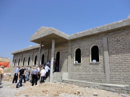New Armenian Church being built in Havresk village