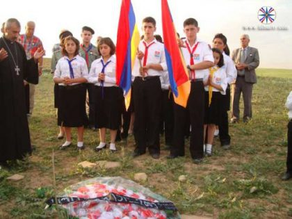 Havrez Armenians commemorate Genocide