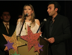 With Christine Pepelyan: best video clip for year 2005