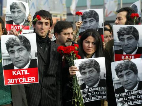 In memory of Hrant Dink