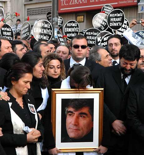 Funeral of Hrant Dink