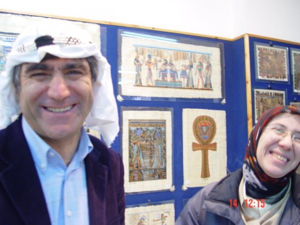 Hrant Dink in Egyptian souvenir shop