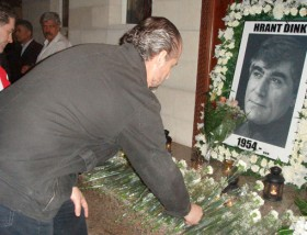 In memory of Hrant Dink in Sharjah