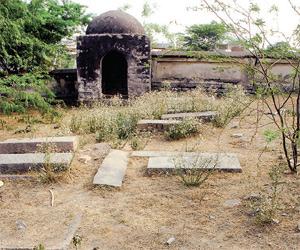 Historic Armenian cemetery in Hyderabad buried under waste