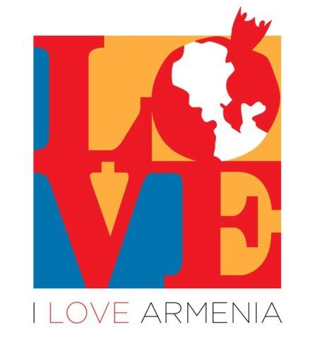 I Love Armenia logo