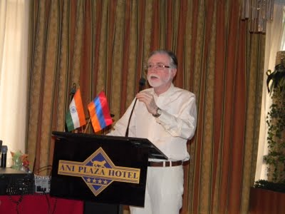 Embassy of India in Yerevan organized an evening of film show and IAF Conference in Yerevan