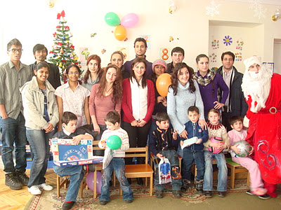 Indo-Armenian Friendship NGO visits an orphanage house in Yerevan