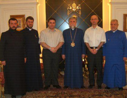 Aram I receives the Armenian members of the Parliament of Iran