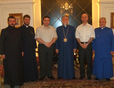IRANIAN ARMENIAN MEMBERS OF THE PARLIAMENT VISIT LEBANON