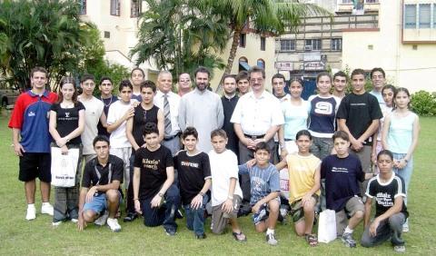 IRANIAN ARMENIAN STUDENTS VISIT THEIR PARENTS
