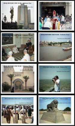 Mouradian's photo albums on life in Iraq before the recent wars