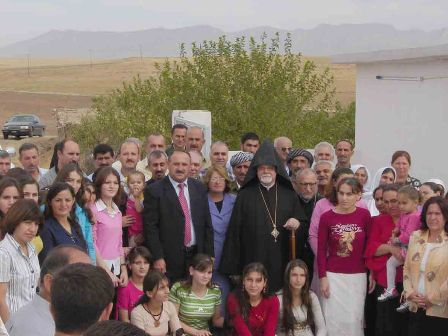 Parochial visit to Iraq
