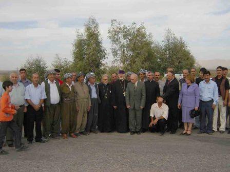 Parochial visit to Iraqi Armenians