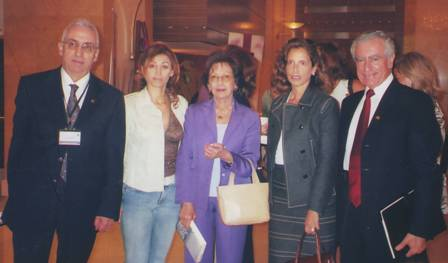 With Lebanese Consul in Dubai H.E. Dona El-Turk (second from the right)
