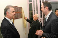 The opening ceremony of 'Jean Farajian Auditorium' in Beirut