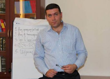 Karo Jamharyan researches the history of Armenian schools in Syria
