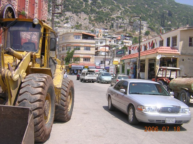 Main street in Kessab