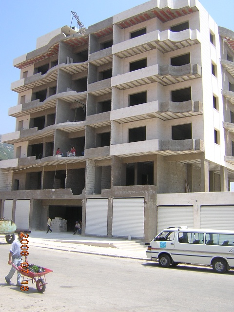 New hotel under construction in Kessab (now open)