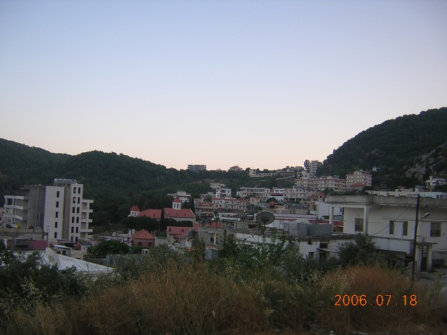 Panoramic view of Kessab