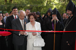 Opening ceremony of the renovated FAR office in Yerevan