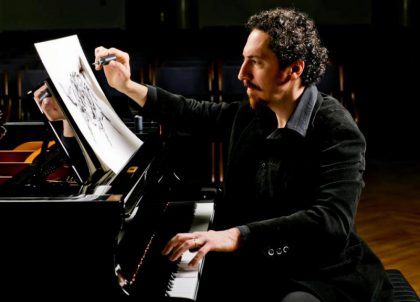Kevork Mourad: Incorporating painting with music