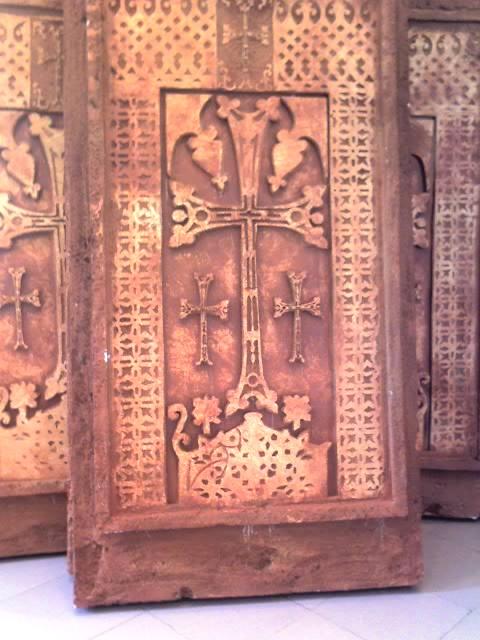 KHATCHKAR SAMPLE MADE BY SHARJAH ARMENIAN SHCOOL CHILDREN