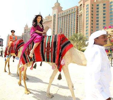 Kim Kardashian spent four memorable days in Dubai before filing for divorce