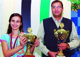 Lebanese Armenian Knarik Mouradian Arab Chess Champion