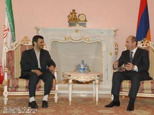 Iranian President in Armenia