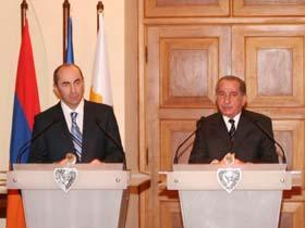 Armenia – Cyprus ties strengthen after Kocharyan visit to Cyprus